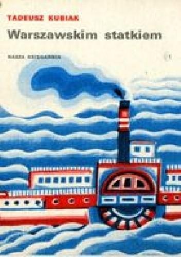 Okładka książki Warszawskim statkiem