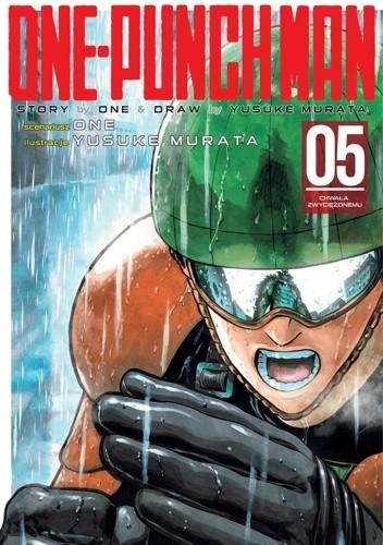 Okładka książki One-Punch Man tom 5 - Chwała zwyciężonemu