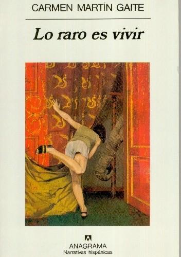 Okładka książki Lo raro es vivir