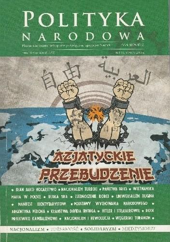 Okładka książki Polityka Narodowa 13/2013