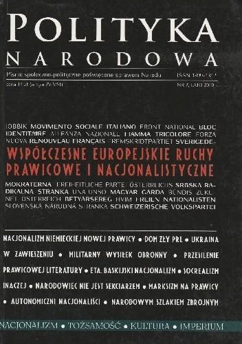 Okładka książki Polityka Narodowa 7/2010