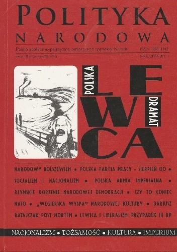 Okładka książki Polityka Narodowa 8/2011