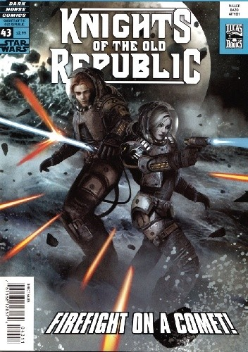 Okładka książki Star Wars: Knights of the Old Republic #43