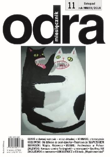 Okładka książki Odra nr 11 / 2016