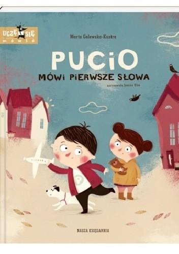 Okładka książki Pucio mówi pierwsze słowa