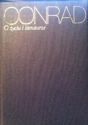 Okładka książki O życiu i literaturze
