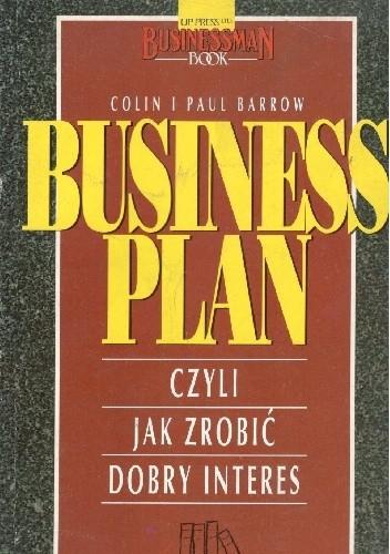 Okładka książki Business plan czyli jak zrobić dobry interes