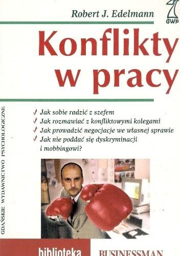 Okładka książki Konflikt w pracy