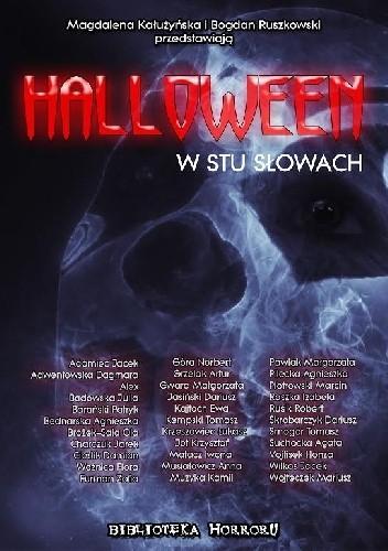 Okładka książki Halloween w stu słowach