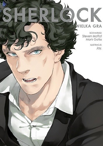 Okładka książki Sherlock: Wielka gra