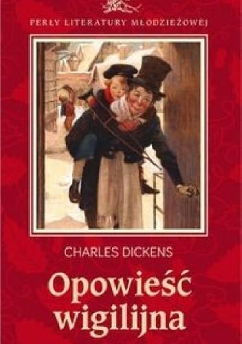 Okładka książki Opowieść wigilijna