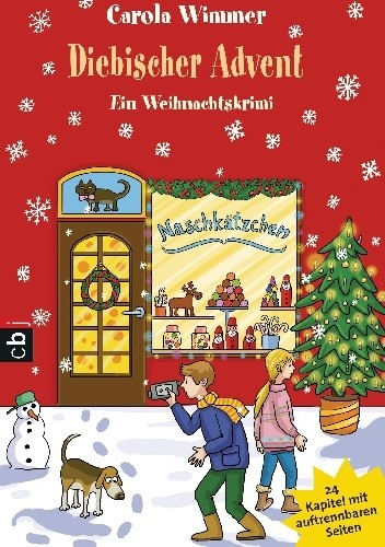 Okładka książki Diebischer Advent