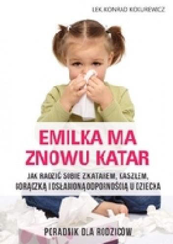 Okładka książki Emilka ma znowu katar