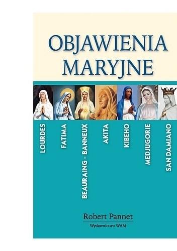 Okładka książki Objawienia Maryjne