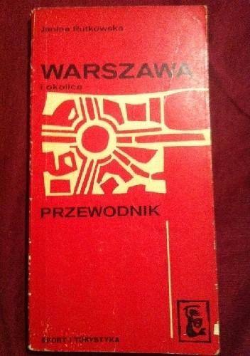Okładka książki Warszawa i okolice Przewodnik