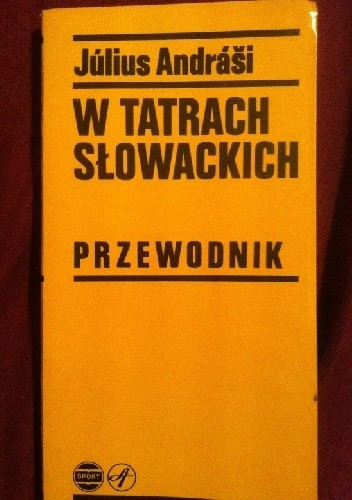 Okładka książki W Tatrach Słowackich