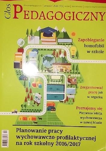Okładka książki Głos pedagogiczny, wrzesień 2016