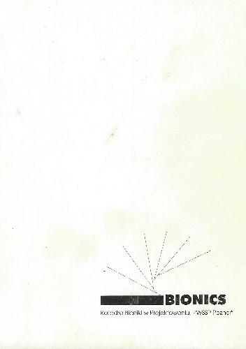 Okładka książki BIONICS- Zauważyć i zrozumieć