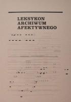 Leksykon archiwum afektywnego