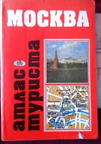 Okładka książki Moskva. Atlas turista