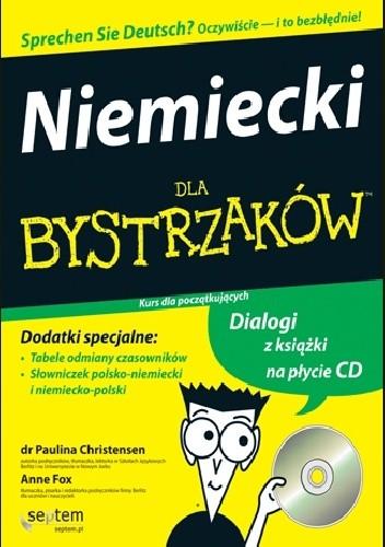 Okładka książki Niemiecki dla bystrzaków. Kurs dla początkujących