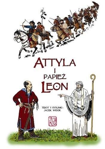 Okładka książki Atylla i Papież Leon