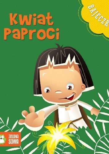 Okładka książki Bajeczkowo - Kwiat paproci