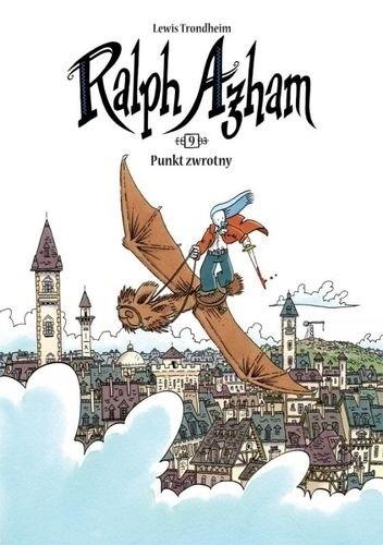 Okładka książki Ralph Azham, tom 9: Punkt zwrotny