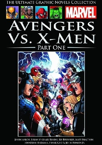 Okładka książki Avengers kontra X-Men. Część 1