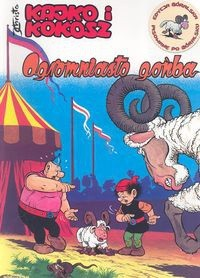 Okładka książki Kajko i Kokosz. Ogromniasto gońba