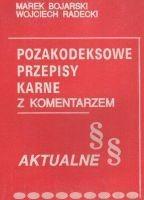 Okładka książki Pozakodeksowe przepisy karne