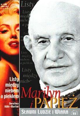 Okładka książki Marilyn i papież. Listy między niebem a piekłem