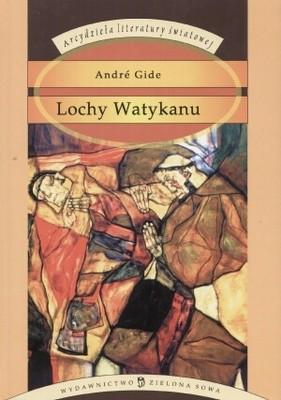 Okładka książki Lochy Watykanu