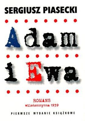Okładka książki Adam i Ewa