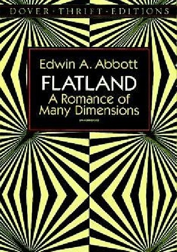 Okładka książki Flatland A Romance of Many Dimensions