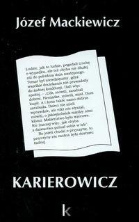 Okładka książki Karierowicz