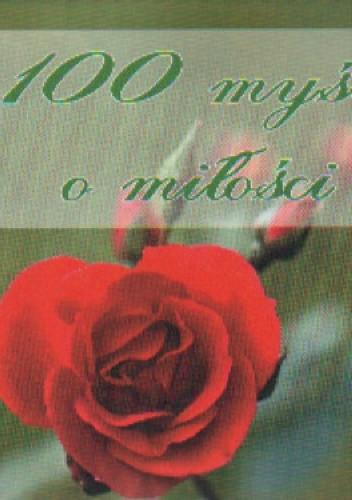 Okładka książki 100 myśli o miłości
