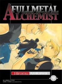 Okładka książki Fullmetal Alchemist t. 9
