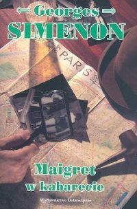 Okładka książki Maigret w kabarecie
