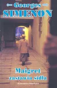 Okładka książki Maigret zastawia sidła