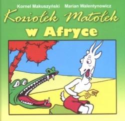 Okładka książki Koziołek Matołek w Afryce