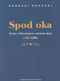 Okładka książki Spod oka