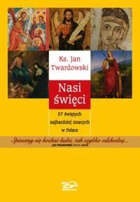 Okładka książki Nasi święci