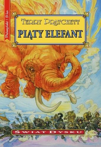 Okładka książki Piąty elefant