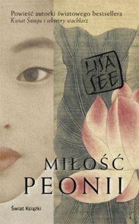 Okładka książki Miłość Peonii