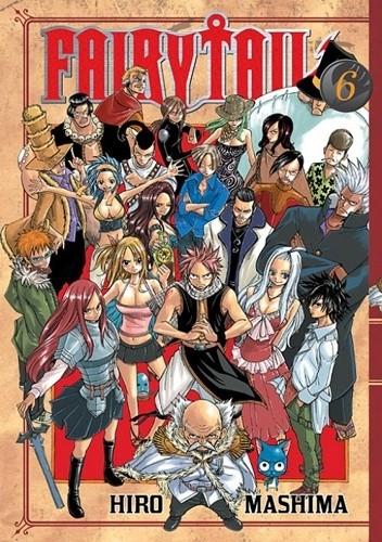 Okładka książki Fairy Tail tom 6