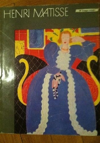 Okładka książki Henri Matisse