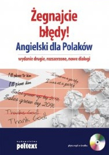 Okładka książki Żegnajcie błędy! Angielski dla Polaków