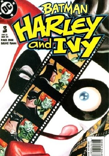 Okładka książki Batman: Harley and Ivy #3