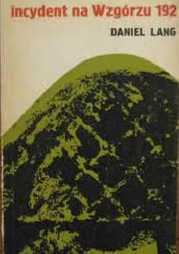 Okładka książki Incydent na Wzgórzu 192